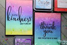 Distress Oxide Cards