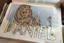 *Daniel--Bible Journaling by Book / Bible Journaling examples from the book of Daniel