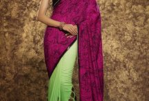 Party Wear Designer Sarees Collection In Wholesale / The saree is one of the world's oldest and perhaps the only surviving unstitched garment from the past. Over the millennia, it has not only become a sensuous, glamorous all-time-wear for women, but also the 'canvas' for weavers and printers to create artistic weaves, prints and jewelled or gold-silver embellishments!