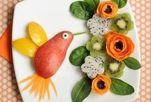 Fun food ideas for children / Delightful and quirky ways to present food to young children.
