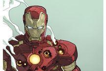 marvel+DC Comics