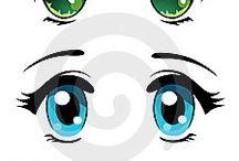 ojos expresivo
