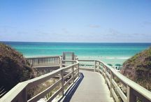 30A Seacret,Santa Rosa Beach and Destin Florida / My favorite beaches in Northwest Florida.