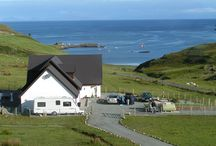 Carters Rest Gueshouse and Accommodation / Carters Rest is a quality B and B set against the stunning backdrop of North West Skye
