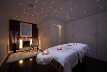 Healing practice room