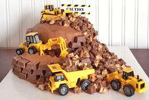 Digger cake