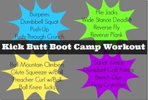 Fitness: Bootcamp / by Natalie Marie