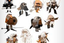 Character ref - warior