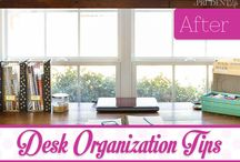 Desk Organisation Ideas