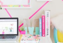 Study Space & Home Office / Get into the zone by creating the ideal study space, whether it's your perfectly curated home office or your duvet-desk.