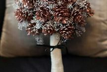 White Winter Weddings / Beautiful and creative Winter and Christmas wedding ideas!