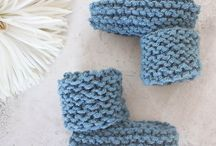 double knit booties