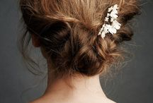 Natural wedding hair styles / natural and beautiful wedding hair - up do's