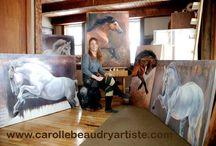 Carolle Beaudry, peintre