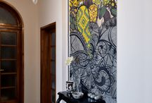 Dream wallcovering craft coating / wallcovering craft coating tiles art architecture graphic taste