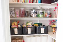 Pantry organization / by Kristi Bush