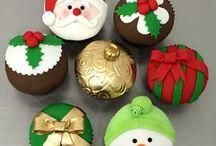 Cupcakes de Navidad❄