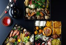 JAPANESE OSECHI , SUSHI BENTO / Traditional event , foods