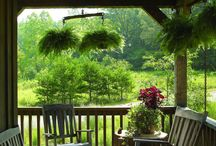 COUNTRY PORCHES / LIFE IS BETTER ON THE PORCH