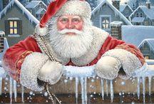 ❄  Новогодние ● Рождественские  Чудесности ☃❄ / Иллюстрации ● Открытки ● Картинки