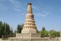 Dunhuang, Gansu, China / Photos taken by David Stanley on a visit to Dunhuang, Gansu, in western China.