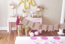 Children's birthday themes