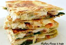 Chicken Spinach Quesiadias  is