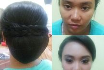 make up & hair do by anne merlyna / Line : annemerlyna