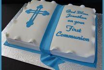 Rhys first holy communion ideas