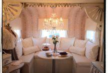 Glamorous Camporous / Glamper ideas, camper remodeling
