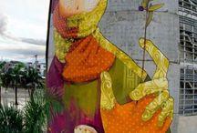 street art. inti
