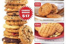 Pre-Portioned Frozen Cookie Dough / It's already portioned out for you, all you have to do is bake!