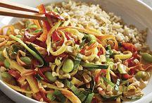 Veggie Strip Maker inspirations / Shred zucchini,  carrots, potatoes,  cauliflower and more. No sharp blades, dishwasher safe. / by Kristina Fry