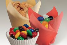 Thinking Outside the Cake Mix Box / Enjoy these creative uses for bake cups and outside-the-box cupcake and dessert ideas!