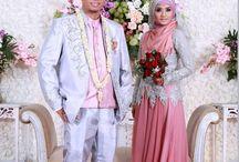 Muslim wedding fashion