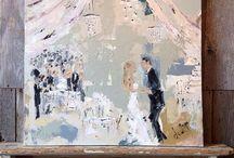 Painting - Wedding
