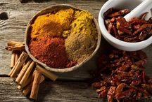 Spices / Things that make taste and flavor.