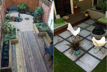 Aménagement jardinet