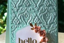 Handmade cards using Stampin Up products / Over on my website, I show you how to make amazing professional handmade cards and other papercraft projects including scrapbooking, using Stampin' Up! quality, co-ordinating products. Grab your free tutorial at www.natalieoshea.co.uk