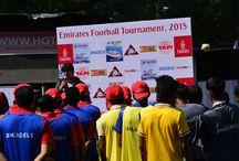 Emirates held a Football Tournament - 05 December,15 / Football Tournament