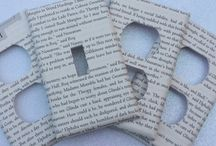 Repurposed Books / Fun things to do with orphaned and outdated books