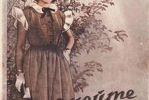 старые модели шитье