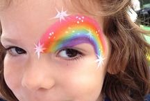 Face painting / Designs ideas for face painting basic and elaborate