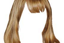 cabello pelucas melenas