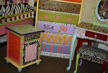 Hand Painted Dressers & Chests / by Distinctive Artistry