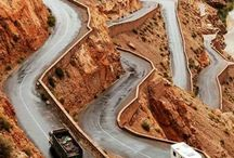 Amazing roads around the World