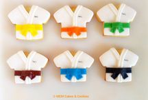 Galletas de Karate / www.memcakesandcookies.com