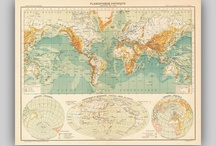Maps - Reproduction of Vintage and Antique Maps