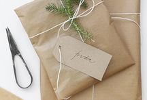 Gifts / Brown paper
