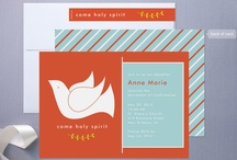 Confirmation / Inspiration and card samples for confirmation invites. / by Heidi Andrist